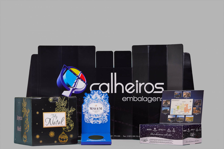 Embalagens para publicidade. As soluções Calheiros Embalagens. Image
